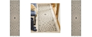 "Safavieh Courtyard Anthracite and Beige 2'3"" x 8' Sisal Weave Runner Area Rug"