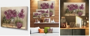 "Design Art Designart Bouquet Of Pink Peonies Floral Art Canvas Print - 32"" X 16"""