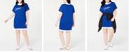 Tommy Hilfiger Plus Size Logo T-Shirt Dress