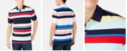 Club Room Men's Stripe Stretch Polo, Created for Macy's
