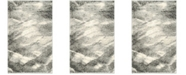 Safavieh Retro Gray and Ivory 3' x 5' Area Rug