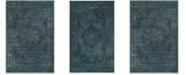 """Safavieh Vintage Blue and Multi 2'7"""" x 4' Area Rug"""
