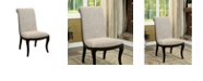 Benzara Contemporary Style Side Chair - Set Of 2