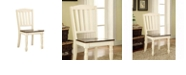 Benzara Cottage Side Chair - Set Of 2