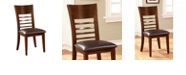 Benzara Transitional Side Chair - Set Of 2