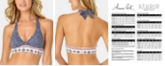 Anne Cole Take It or Leaf It Printed Halter Bikini Top
