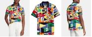 Polo Ralph Lauren Men's Nautical Flag Classic-Fit Mesh Polo Shirt