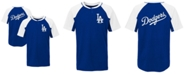 Outerstuff Little Boys Los Angeles Dodgers At The Plate Henley Top