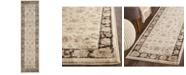 "Safavieh Vintage Ivory and Brown 2'2"" x 8' Runner Area Rug"