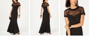Alex Evenings Illusion Sweetheart Gown