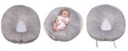 Leachco Podster Plush Sling-Style Infant Lounger, Gray
