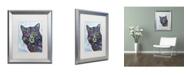 "Trademark Global Dean Russo 'Diligence' Matted Framed Art - 20"" x 16"" x 0.5"""