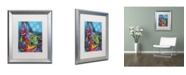 "Trademark Global Dean Russo 'Pop Chihuahua' Matted Framed Art - 20"" x 16"" x 0.5"""