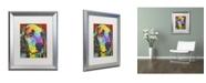 """Trademark Global Dean Russo 'Waffles' Matted Framed Art - 20"""" x 16"""" x 0.5"""""""