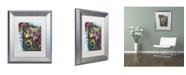 """Trademark Global Dean Russo '06' Matted Framed Art - 14"""" x 11"""" x 0.5"""""""