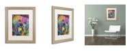 """Trademark Global Dean Russo '10' Matted Framed Art - 20"""" x 16"""" x 0.5"""""""