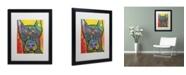"""Trademark Global Dean Russo '17' Matted Framed Art - 16"""" x 20"""" x 0.5"""""""