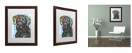 """Trademark Global Dean Russo '27' Matted Framed Art - 20"""" x 16"""" x 0.5"""""""