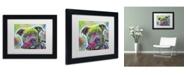 """Trademark Global Dean Russo '30' Matted Framed Art - 11"""" x 14"""" x 0.5"""""""
