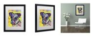 "Trademark Global Dean Russo 'Jack Russell' Matted Framed Art - 16"" x 20"" x 0.5"""