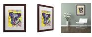 "Trademark Global Dean Russo 'Jack Russell' Matted Framed Art - 20"" x 16"" x 0.5"""