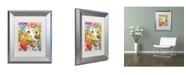 """Trademark Global Dean Russo 'Dakota II' Matted Framed Art - 14"""" x 11"""" x 0.5"""""""
