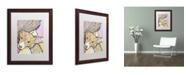 "Trademark Global Dean Russo 'Pixie' Matted Framed Art - 20"" x 16"" x 0.5"""