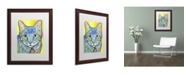 "Trademark Global Dean Russo 'Vintage Maya' Matted Framed Art - 20"" x 16"" x 0.5"""
