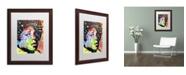 """Trademark Global Dean Russo 'Michael Jackson' Matted Framed Art - 20"""" x 16"""" x 0.5"""""""