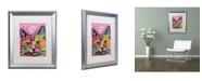 """Trademark Global Dean Russo 'Beast' Matted Framed Art - 20"""" x 16"""" x 0.5"""""""