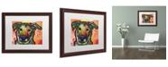 "Trademark Global Dean Russo 'Crystal' Matted Framed Art - 20"" x 16"" x 0.5"""