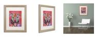 """Trademark Global Dean Russo 'Knipp' Matted Framed Art - 20"""" x 16"""" x 0.5"""""""