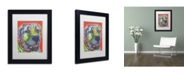 "Trademark Global Dean Russo 'Zeus' Matted Framed Art - 11"" x 14"" x 0.5"""