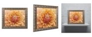 """Trademark Global Cora Niele 'Orange Dahlia' Ornate Framed Art - 14"""" x 11"""" x 0.5"""""""