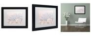 "Trademark Global Cora Niele 'Dandelion Dew II' Matted Framed Art - 11"" x 14"" x 0.5"""