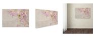 "Trademark Global Cora Niele 'Sweet Pea' Canvas Art - 32"" x 22"" x 2"""