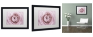 "Trademark Global Cora Niele 'Persian Buttercup' Matted Framed Art - 16"" x 20"" x 0.5"""