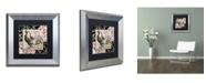 "Trademark Global Color Bakery 'Europa I' Matted Framed Art - 11"" x 0.5"" x 11"""