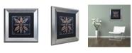 "Trademark Global Color Bakery 'Maritime Blues VII' Matted Framed Art - 11"" x 0.5"" x 11"""