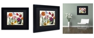 "Trademark Global Color Bakery 'Printemps I' Matted Framed Art - 14"" x 11"" x 0.5"""