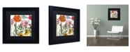 "Trademark Global Color Bakery 'Printemps II' Matted Framed Art - 11"" x 11"" x 0.5"""