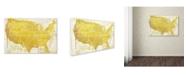 "Trademark Global Color Bakery 'American Dream II' Canvas Art - 32"" x 2"" x 22"""