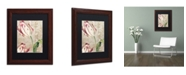 """Trademark Global Color Bakery 'Tulips' Matted Framed Art - 11"""" x 0.5"""" x 14"""""""