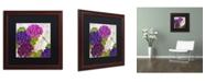 "Trademark Global Color Bakery 'Gaia II' Matted Framed Art - 16"" x 0.5"" x 16"""
