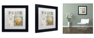 "Trademark Global Color Bakery 'Beach Book I' Matted Framed Art - 11"" x 11"" x 0.5"""