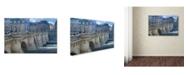 "Trademark Global Cora Niele 'The Pont Neuf I' Canvas Art - 24"" x 16"" x 2"""