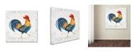 "Trademark Global Irina Trzaskos Studio 'Rooster' Canvas Art - 24"" x 24"" x 2"""