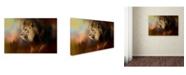 "Trademark Global Jai Johnson 'Into The Heat' Canvas Art - 19"" x 12"" x 2"""
