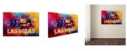 "Trademark Global Jai Johnson 'Sending Love To Las Vegas' Canvas Art - 24"" x 16"" x 2"""