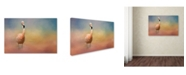 "Trademark Global Jai Johnson 'Flamingo Friday' Canvas Art - 47"" x 30"" x 2"""